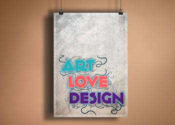 Print Art Love Design 1