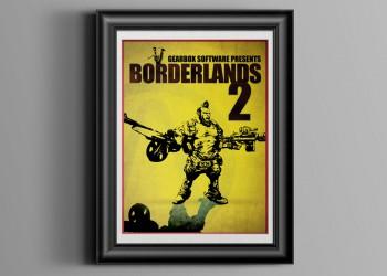 Print Borderlands Poster 1